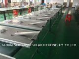 태양 움직임 빛 판매를 위한 통합 태양 LED 가로등 Monocrystalline 태양 전지판