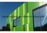 Materiale-Aludong composito di alluminio del rivestimento esterno variopinto di 4mm PVDF