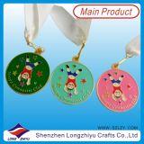 Epoxy Domed (lZY-201300046)를 가진 2014 가장 새로운 Custom Sport Medals Gold Taekwondo Medal