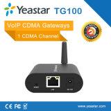 Yeastar Één SIM Gateway van VoIP CDMA van het Kanaal van de Groef CDMA (NeoGate TG100)