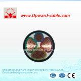 Cavi isolati XLPE di energia elettrica di memoria del PVC 4