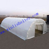 Recubierto de PVC/PE refugio de almacenamiento de gran tamaño XL-5010025Tienda (R)