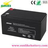 Cer-Zustimmungs-nachladbares Leitungskabel saure UPS-Batterie 12V7.2ah für Elektrik