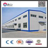 Taller de la estructura de acero/almacén pintados o galvanizados