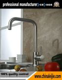 En acier inoxydable poli miroir robinet évier de cuisine