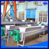 Специальный зеленый плоский ремень транспортера для производственной линии