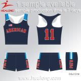 Healong Diseño personalizado ropa deportiva Sublimación de tinta Cycling Jersey