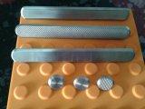 Goujon/bandes tactiles d'indicateurs d'acier inoxydable pour la route extérieure
