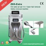 E-Light RF ND YAG лазер Tattoo снятие машины для удаления волос