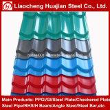 I materiali del comitato di parete delle mattonelle di tetto hanno ondulato le lamiere di acciaio nel colore di Ral