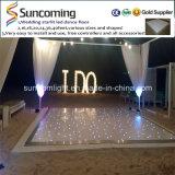 Facile installer le Portable romantique de mariage allument LED Dance Floor