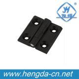 전기 옆 개머리판쇠에 의하여 은폐되는 내각 경첩 (YH9356)