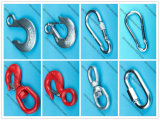 Atacado Rigging Zinc Plated H-324 Eye Slip Gancho / Cabo Gancho / Snap Hook