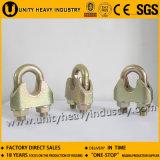 Type DIN1142 clip malléable de Galv de constructeur de la Chine de câble métallique