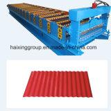 機械を形作る波形の屋根ロール