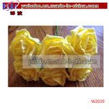 Fiore fresco della Rosa dei fiori da taglio della novità della decorazione di natale (W2037)