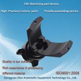 工場砂吹きのCNCの機械化の部品を製粉する黒によって陽極酸化される精密アルミニウム