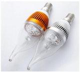Éclairage en plastique d'ampoule de la bougie 3wa 3wb 5wa 5wb de la qualité DEL de projecteur de DEL