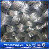 Material de construcción Alambre de hierro galvanizado / Bwg20-22 Alambre de unión galvanizado para la construcción