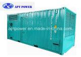 Containerized звукоизоляционное главный комплекта генератора 800kVA Cummins тепловозное