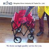 Easy Go Wagon Folding Unidade de transporte dobrável Canopy Sturdy Garden Cart