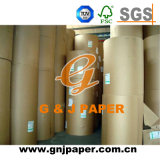Ofício de Brown da qualidade superior da cópia 500kgs-1200kgs do logotipo/papel de embalagem
