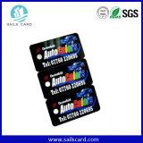 Non-Cr80 пользовательского размера специальной Die Cut PVC карт