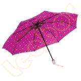 最もよい携帯用コンパクトな旅行フォールドの離れた豪華な傘