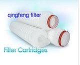 Nylon microporoso OEM cartucho de filtro de pliegues para tratamiento de agua