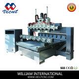 Tagliatrice rotativa di CNC di falegnameria delle 8 teste (VCT-TM2515FR-8H)
