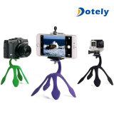 Vorgangs-Videokameras Gopro Mobiltelefon iPhone Krake-nachgemachter Standplatz-Halter