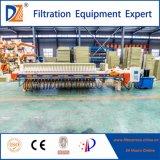Máquina da imprensa de filtro da membrana da câmara do tratamento da água da DZ