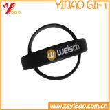 Bracelet coloré fait sur commande de vente chaud de silicium, bracelet de silicones pour la promotion