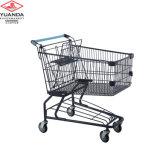 Trole americano usado da compra do estilo da alta qualidade do equipamento do supermercado