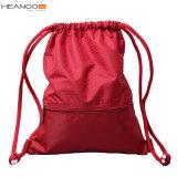 Kundenspezifischer Sackpack wasserdichter Schwimmen-Basketball-Sport-Gymnastikdrawstring-Rucksack