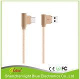 Экранирующая оплетка алюминиевый сплав быстрое зарядное устройство USB-кабель для iPhone X
