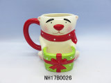 Tazza di ceramica tè/del caffè con il disegno della renna