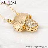 43084 Xuping наиболее востребованных моды многоцветные небольшой валик алмазов ювелирных изделий из кожи цепочка