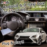 Android 6.0 sistema de navegación GPS para Lexus RC200t RC300h 2015-2017 la interfaz de video...