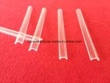 Filtro UV transparente Arc Parede fina placa de vidro de quartzo