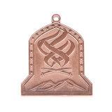 [Andenken-Zink-Legierung des Hersteller-] Zoll-3D Sports preiswerte GoldTrophie Aufhängungs-Großverkauf-Abnehmer-Medaillen-freie Form