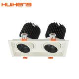 新しいデザインアルミニウム引き込み式30W*2 Dimmable LEDグリルライト