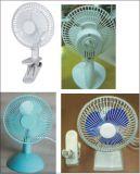 6 Zoll 2 in 1 Schreibtisch-Ventilator-Klipp-Ventilator