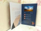 Поздравительная открытка самого удобного и быстро самого изготовленный на заказ видео-плейер LCD Mailable, карточка приглашения