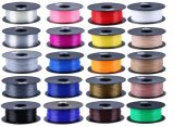 다중 원색판화 소모품 1.75mm PLA/ABS/Wood 3D 인쇄 기계 필라멘트