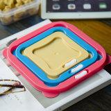 Contenitore di memoria di plastica riutilizzabile dell'alimento 5in1 fresco - mantenere contenitore