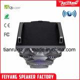 Neuer Produkt-draußen beweglicher Batterie-Laufkatze DJ-Lautsprecher mit buntem Licht F10-23