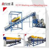 Máquina de reciclaje plástica de los PP del PE/línea/lavadora de reciclaje plásticas