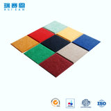 Décoratif coloré de matériel acoustique de panneau de fibre de polyester