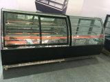 Dispositivo di raffreddamento americano della vetrina della torta della visualizzazione di Pasrty della Multi-Piattaforma di stile con la mensola due